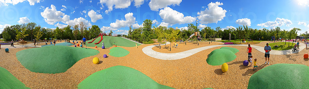 Assiniboine Park Nature Playground, Winnipeg, Manitoba